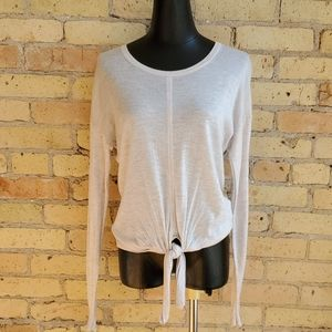 Madewell Sweaters - Madewell Tie-Front Sweater